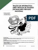 Administração de Informatica Funções e Fatores Criticos de Sucesso