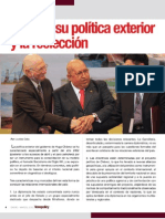 Chávez su politica exteríor y su reelección por Lourdes Cobo
