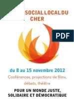 FSL 2012 Plaquette Programme