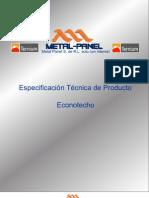 Econotecho (Versatecho) Ternium Multypanel PDF