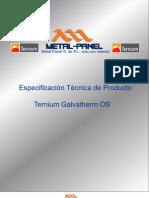 Galvamuro (Galvatherm Os) Ternium Multypanel PDF
