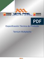 Multytecho Ternium Multypanel PDF