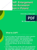 CAP - Presentation