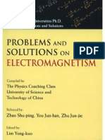 Problems and Solutions on Electromagnetism
