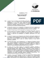Acuerdo 142 Listado de Desechos