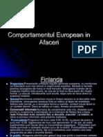 Comportamentul European in Afaceri