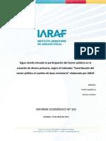 11-04-13 IE_102- Impacto del Sector público en la creación de dinero