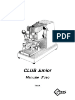 SILCA CLUB JUNIOR Manuale d'uso