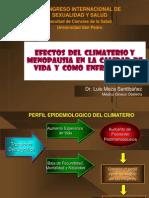 Manejo de Climaterio y Calidad de Vida Octubre 2012 Final