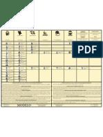 Modelo de la papeleta legislativa, Precinto Núm. 60