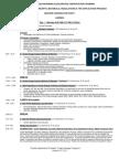 Agenda Part I