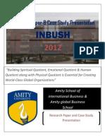 14th INBUSH 2012
