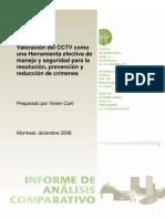 Valoracion Del CCTV Como Una Herramienta Efectiva de Manejo y Seguridad ESP