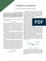 (Report) Características del diodo