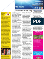 Business Events News for Mon 29 Oct 2012 - AIME 2013, MCEC AIDS conference, DMS, Getting to know and much more