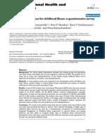 Care-Seeking Behavior for Child