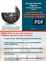 4 Years Into the Attitudes and Behavior of Filipino Media Consumers