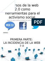 Presentación - Modulo Activismo en Redes Sociales.