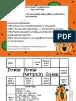 Decimals Peter Peter