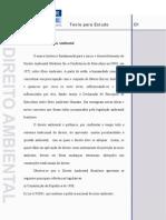[Aula] Introdução ao Direito Ambiental DRAUT1