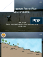 Management in Submergence-Prone Environments2011