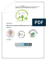 EFECTO DEL CRECIMIENTO POBLACIONAL SOBRE EL MEDIOAMBIENTE (Documento capacitación) - copia 2