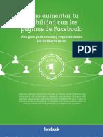Guía Del uso de Paginas en Facebook Para ONG.