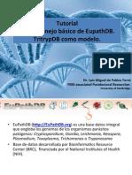 Tutorial EupathDB. Luis M. de Pablos
