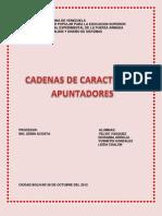 Cadena de Caracteres & Apuntadores