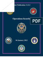 Joint Publication 3-13.3 Operations Security
