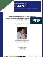79. 2006 PUEBLOS INDÍGENAS Y EDUCACIÓN SUPERIOR