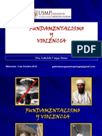 9 Novena Clase Fundamentalismo y Violencia 3oct12