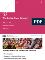 The Indian Steel Industry 2012