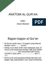 1-ANATOMI AL-QUR'AN