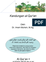 11 Kandungan Al Qur'An