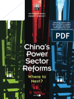 China's Power Sector Reforms