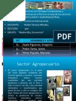 Agropecuario y Agroindustria en el Perú
