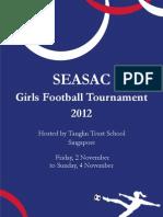 SEASAC Girls Football Schedule