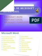 Tutorial de Microsoft Office 2003