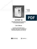 Altivar 66 ATV66 User Installation Manual