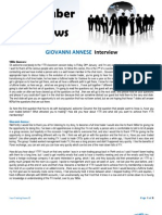 Giovanni Annese Interview