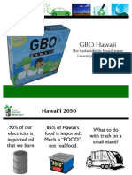 GBO Hawaii-- Supplement Slides (Econ)