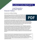 Greenspan et al. (2005) -Richmond's Second Responders