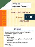 Ch 10 Aggregate Demand I