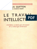 Le travail intellectuel - Jean Guitton.pdf
