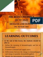 2. ECO 162-Demand and Supply
