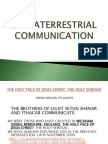 Extraterrestrial Communication