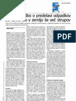 Dnevnik - bioplinarne - 29.10.2012