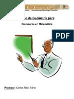 Curso Geometria Profesores Matematica