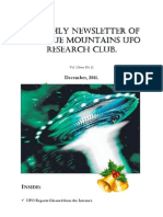 The Blue Mountains UFO Research Club Newsletter - December 2011